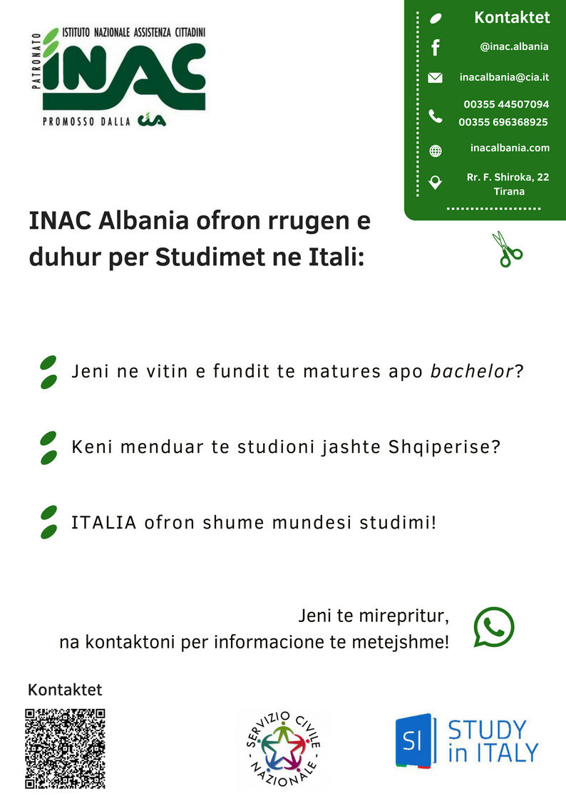 INAC Study in Italy 8.0