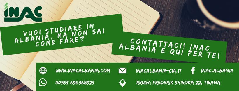Vuoi studiare in Albania